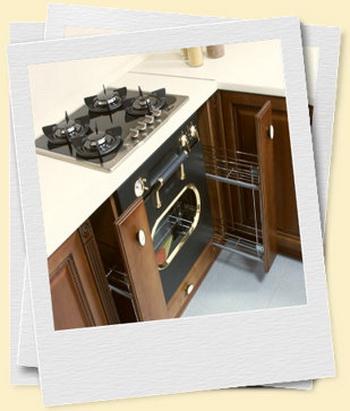 Из какого материала изготавливаются современные кухни. Фото с kuhni-shop.ru