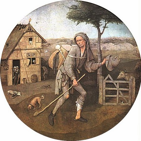 «Бродяга», Иероним БОСХ. Фото: wikipedia.org