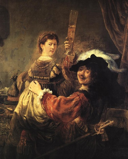 «Блудный сын в таверне», 1635, Рембрандт. Фото: wikimedia.org