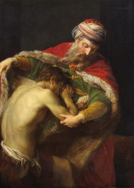 «Возвращение блудного сына», Помпеио Батони. Фото: wikimedia.org