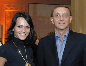 Певица Слава и Анатолий Данилицкий.