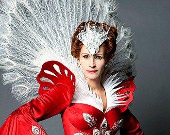 Джулия Робертс в роли злой королевы. Фото с newsfiber.com