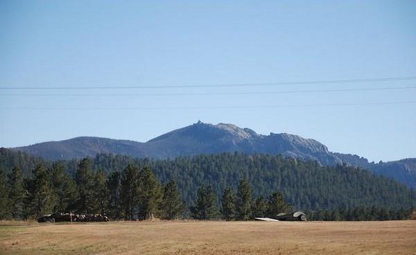 Пик Харни: Черные горы в Южной Дакоте. Фото предоставлено Джоном Кристофером Файном