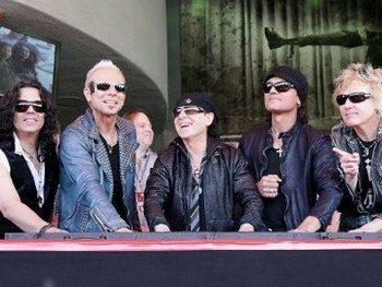 Scorpions. Фото с сайта группы