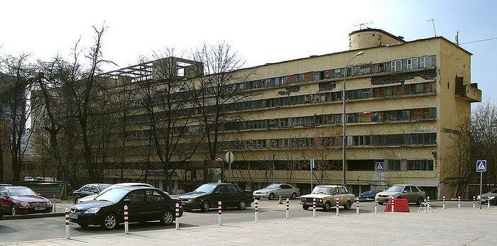 Дом Наркомфина — утопия, которой не суждено было сбыться. Фото с сайта wikimedia.org
