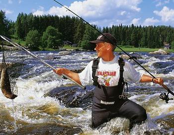 Рыбалка в Финляндии. Фото с сайта http://centralfinland.ru/summer_entertainment/
