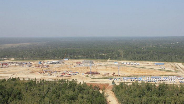 Строительство космодрома «Восточный». Фото Рогозина с сайта pav-cci.kz/?tag=kosmodroma