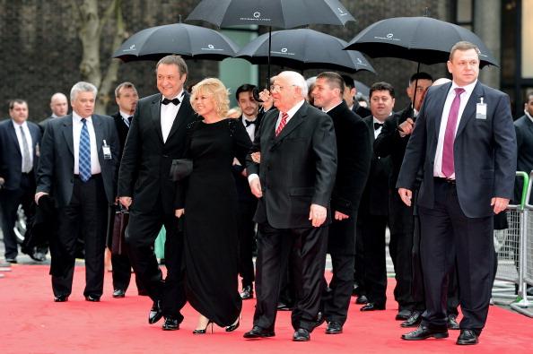 Михаил Горбачев отметил свое 80-летие со звездами Голливуда в королевском Альберт-холле. Фото: Ian Gavan/Dave Benett/G80/Getty Images