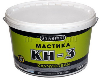 Кн-3 каучуковая мастика мастика битумная аутокрин