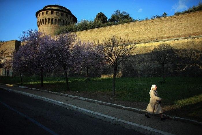 Повседневная жизнь «Вечного города» – Рима 16 марта 2013 г. Фото: Joe Raedle/Getty Images