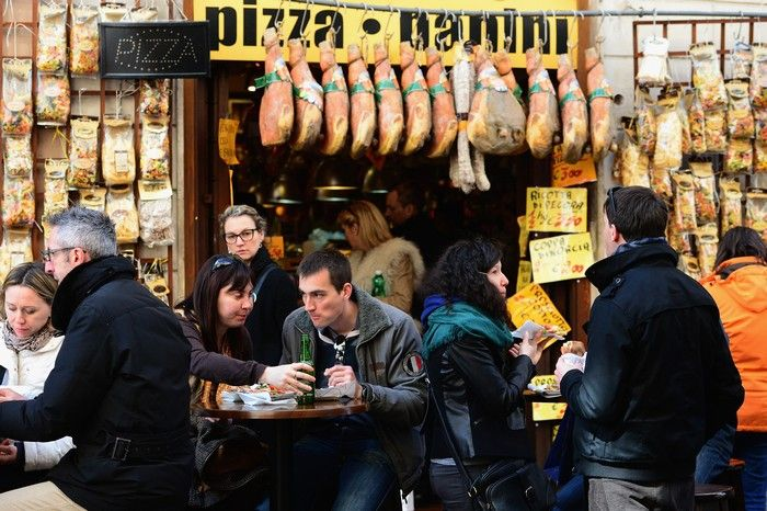 Повседневная жизнь «Вечного города» – Рима 16 марта 2013 г. Фото: Jeff J Mitchell/Getty Images