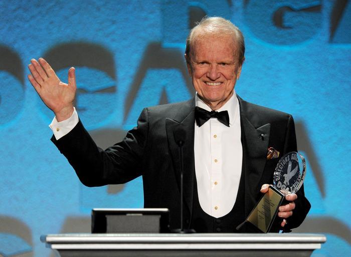 Джордж Стивенс – младший на церемонии вручения премии гильдии режиссёров США 3 февраля 2013 года в Лос-Анжелесе, США. Фото: Kevin Winter/Getty Images