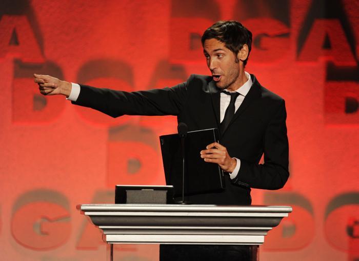 Малик Бенджеллул на церемонии вручения премии гильдии режиссёров США 3 февраля 2013 года в Лос-Анжелесе, США. Фото: Kevin Winter/Getty Images