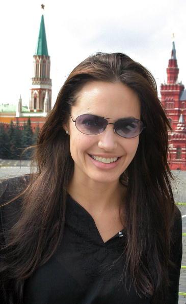 Анджелина Джоли,  24 августа 2003. Фото: Getty Images