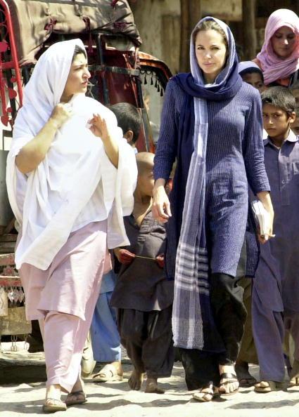 Анджелина Джоли,  5 мая 2005. Фото: Getty Images