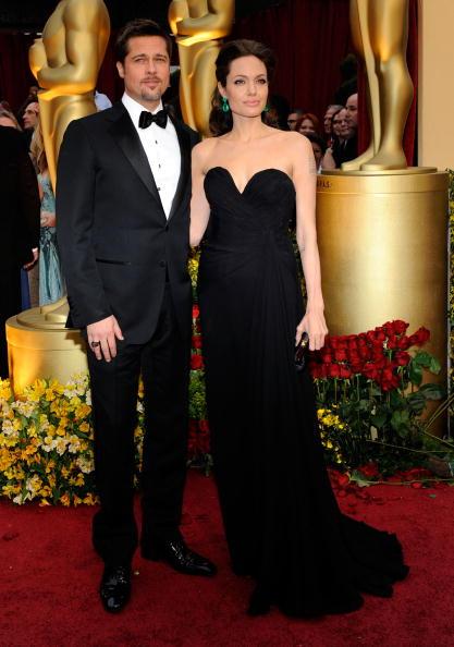 Анджелина Джоли,  22 февраля 2009 . Фото: Getty Images