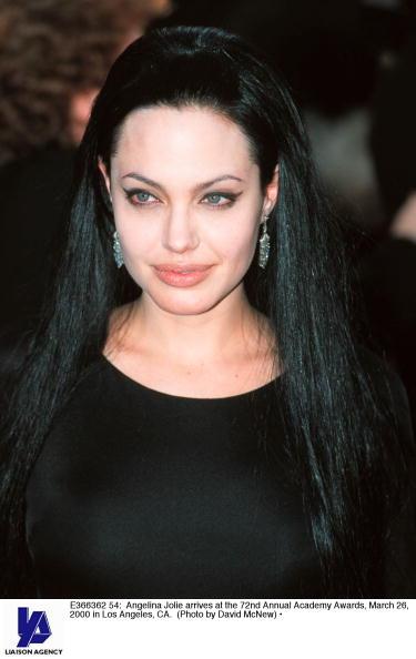 Анджелина Джоли,  26 марта 2000. Фото: Getty Images
