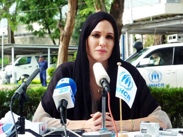 Анджелина Джоли,  8 сентября 2010. Фото: Getty Images