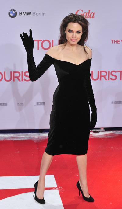 Анджелина Джоли,  14 декабря 2010. Фото: Getty Images