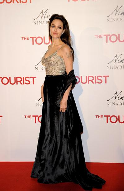 Анджелина Джоли,  16 декабря 2010. Фото: Getty Images