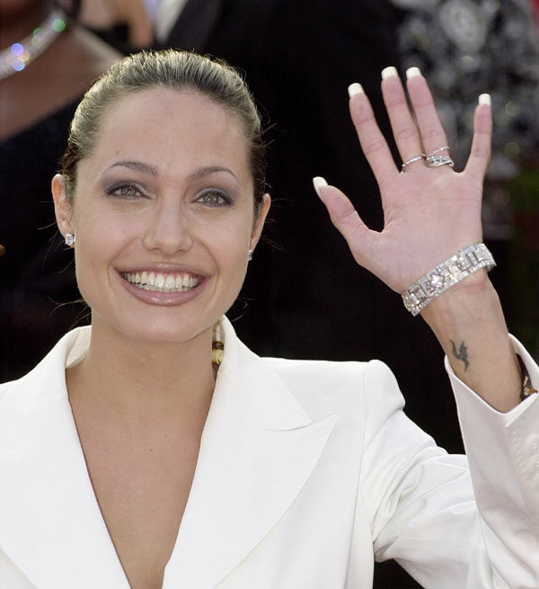 Анджелина Джоли,  25 марта 2001. Фото: Getty Images