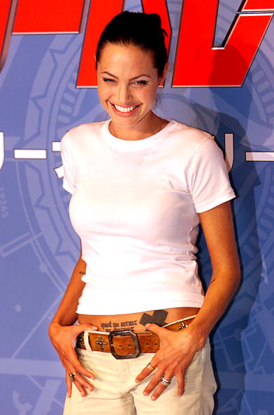 Анджелина Джоли,  11 сентября 2001. Фото: Getty Images