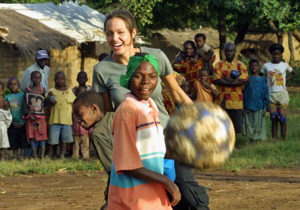 Анджелина Джоли,  31 марта 2003. Фото: Getty Images