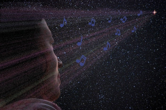 Музыка звёзд. Иллюстрация: Илья Иванов/Великая Эпоха (The Epoch Times)