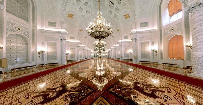 Большой Кремлёвский дворец. Георгиевский зал. Фото: kremlin.ru