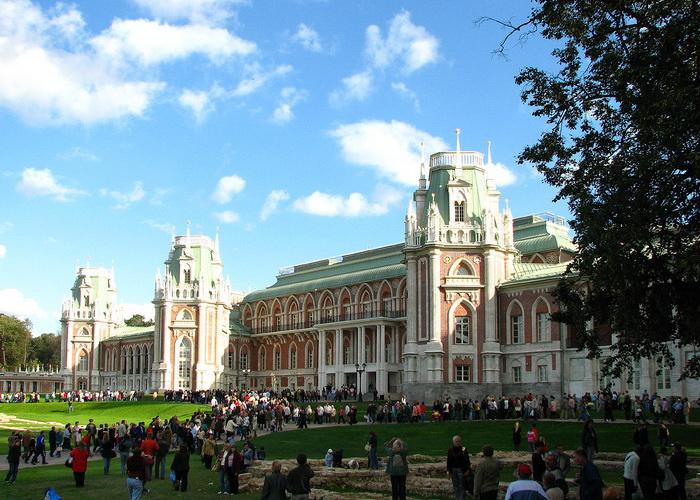 Дворец-усадьба Царицыно. Фото: Корзун Андрей/commons.wikimedia.org