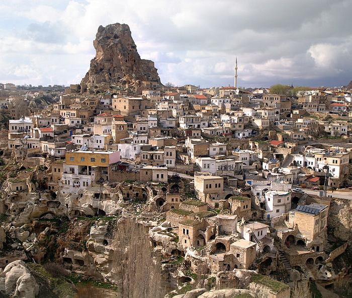 Каппадокия — страна пещерных поселений. Фото: Brocken Inaglory/commons.wikimedia.org