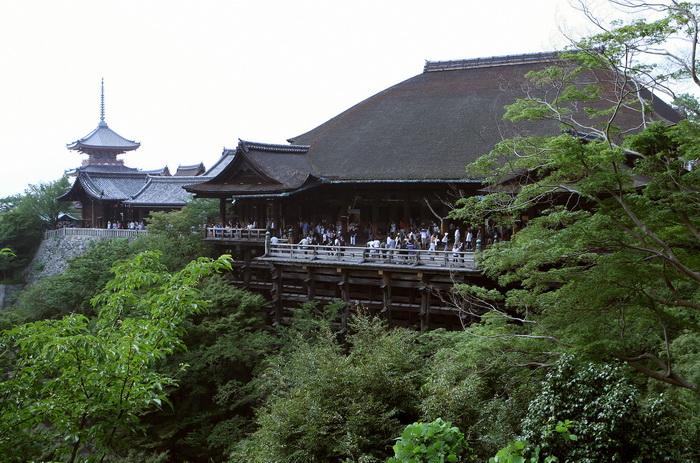 Храм, Киото. Фото: TOSHIFUMI KITAMURA/AFP/Getty Images