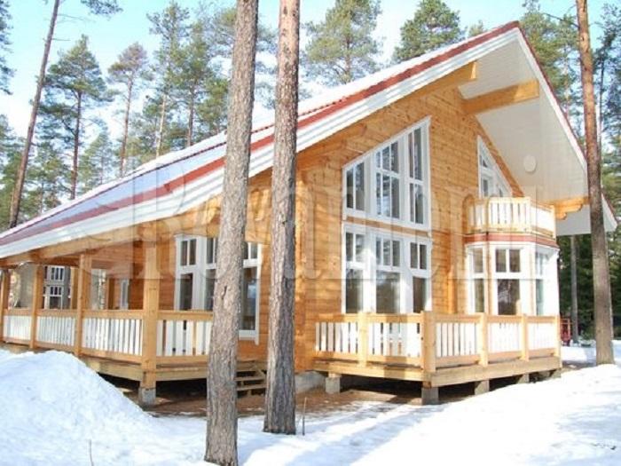 Финские дома из клееного бруса от www.rovaniemi.ru: отличительные особенности. Фото с rovaniemi.ru