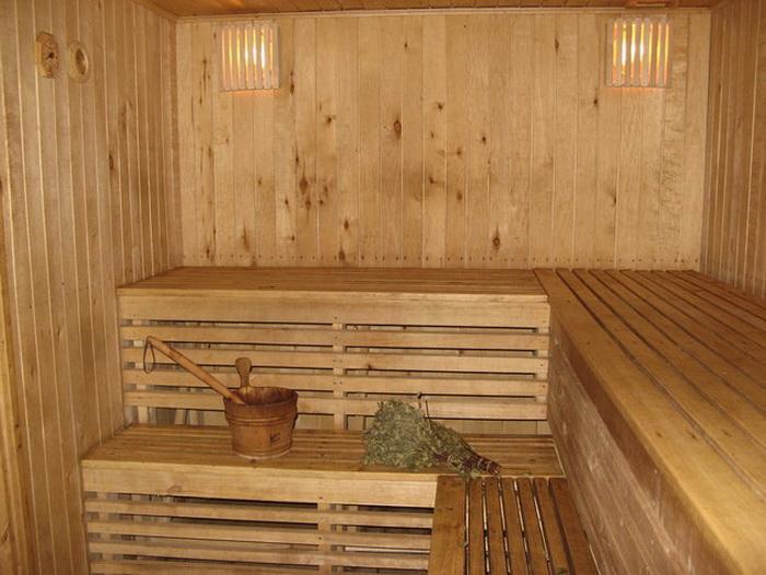 Как правильно ходить в сауну или баню? Фото с viss.lv