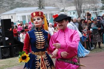 На Дне возрождения балкарского народа в Нальчике. Фото: chechnya.kavkaz-uzel.ru