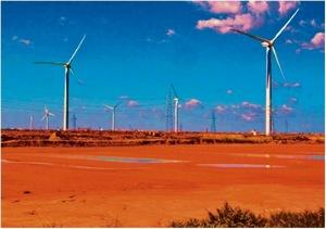 Производство энергии за счет ветровых турбин предполагается во Франции в 2010 году  5600 мегаватт, тогда как ей необходимо 10000 мегаватт. Фото: Wikipedia