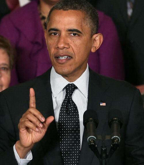 Barack Obama.  Photo: Mark Wilson / Getty Images
