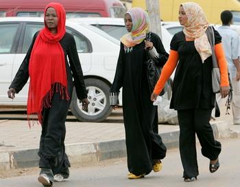 Судан: порку женщин нужно запретить. Фото: Ashraf SHAZLY/AFP/Getty Images