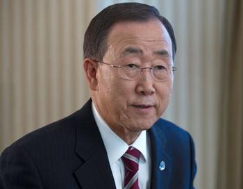 Генеральный секретарь ООН Пан Ги Мун. Фото РИА Новости