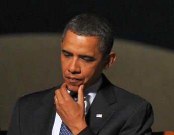 Когда президент Обама встречается с лидером Китая  Ху Цзиньтао, он оказывается перед задачей, как восстановить политику  в отношении Китая, широко известную, как «двупартийное бедствие тянущееся десятилетиями». Фото: Мандель Нган / AFP / Getty Images