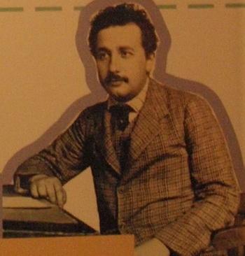 Эйнштейн:«Чтобы творения нашего разума были благословленными…». Экспозиция в библиотеке Иерусалимского Университета Гиват-Рам. Фото: Хава Тор/Великая Эпоха