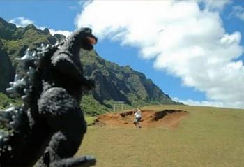 фото Годзиллы из видео.