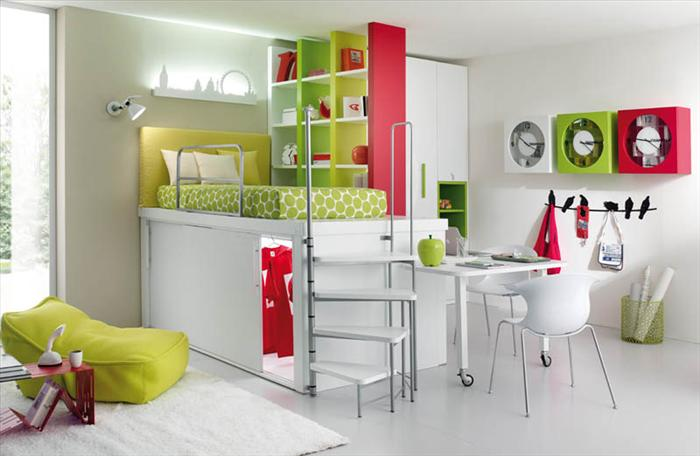 Такие комнаты дети любят. Фото с сайта ba-bamail