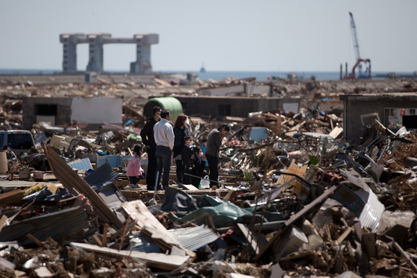 Апрель с Землей не шутит. Обзор. Фото: YASUYOSHI CHIBA/AFP/Getty Images