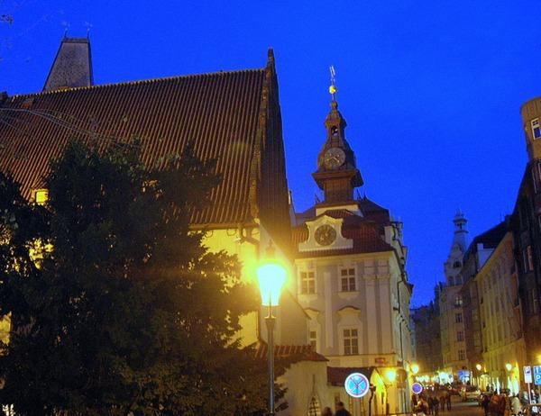 Новый год и Рождество в Чехии. Еврейский квартал Йозефов. Фото: Алла ЛАВРИНЕНКО/ Великая Эпоха (The Epoch Times)