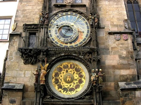 Новый год и Рождество в Чехии. Астрономические часы Орлей. Фото: Алла ЛАВРИНЕНКО/ Великая Эпоха (The Epoch Times)