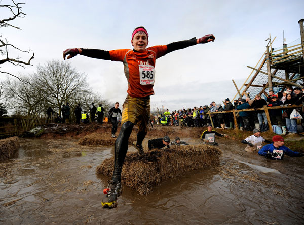 Tough Guy Challenge, январь, 2010 г. Фото: Michael Regan/ Getty Images