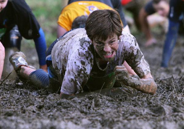 Tough Guy Challenge, июль, 2009 г. Фото: Sandra Mu / Getty Images