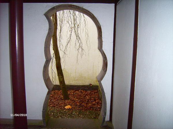 Китайский сад. Ботанический сад Рурского университета Бохум. Фото: Сергей Ярош.