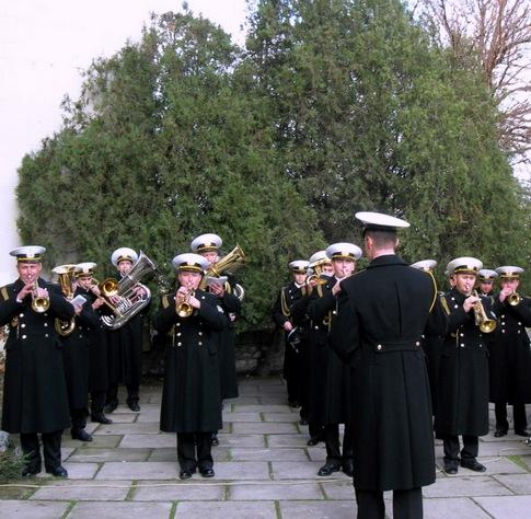 Оркестр военных моряков - украшение праздника. Фото:  Алла Лавриненко/Великая Эпоха/The Epoch Times